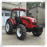 90HP 100HP 110HP 120HP 4WD Farm Tractor avec du ce Certificate