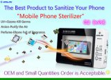 CE RoHS сертифицированных мобильных телефонов стерилизатор UV Sanitizer Disinfector сотовых телефонов, УФ стерилизатор озона