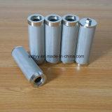 Из нержавеющей стали 304/316 металлокерамические сетчатый фильтр с помощью гайки