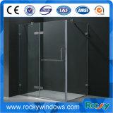 Design de sala de banho de vidro claro Tempered Clear