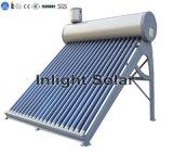 O tubo de vácuo os aquecedores de água solares Fornecedor da China