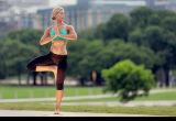 Износ одежд верхних частей урожая черных женщин гетры йоги пригодности/Pants+Green
