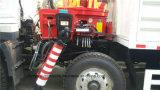 Camion lourd de charge de 15 T avec le camion de camion de manipulateur de la grue 8X4