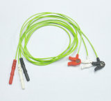 Holter 3 Kabel des Leitungskabel-ECG stellte mit OEM/ODM ein