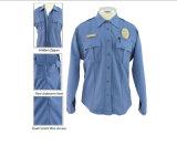 Vêtements de travail blanc chemise de garde de sécurité confortable