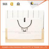 Fabrik-umweltfreundliche weiße Karten-Papier-Einkaufstasche mit Griff