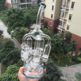 """Tubo di acqua del riciclatore di Bontek con lo Showerhead Perc del favo """"del lampadario a bracci"""""""