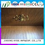 comitato di parete impermeabile del comitato di soffitto del comitato del PVC della scanalatura di larghezza di 25cm per Deocration interno