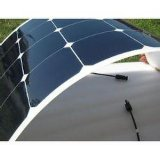 Comitato solare semi flessibile marino della pellicola sottile di 100W Sunpower ETFE per rv