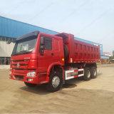판매에 Sinotruk HOWO 6X4 덤프 트럭 팁 주는 사람 트럭