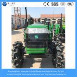 40HP 4WD 농장 또는 농업 소형 경작하거나 조밀하거나 작고 잔디밭 또는 벼 타이어 또는 농장 궤도 트랙터