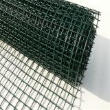 Rete metallica verde della saldatura di acciaio del PVC