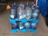 Pallet di plastica per un'acqua da 5 galloni e le bottiglie di acqua Manafuacture