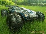 Carro elétrico da escala RC do chassi 4X4 2.4G 1/10th do metal da potência sem escova
