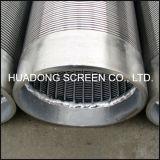 Pantalla de Johnson de la precisión del alambre Screen/Ss316L de la cuña del tubo/de Johnson del filtro para pozos del agua del acero inoxidable