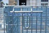 Metalldraht-Ineinander greifen-faltbarer Behälter verwendet für Speicherung