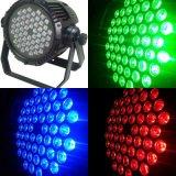 3WX54 LED High Power non étanche RGBW par la lumière pour l'étape la lumière