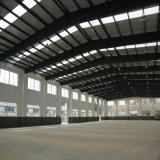 Taller ligero del acero estructural con la pared de ladrillo