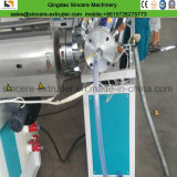 Machine de tissu-renforcé de production \ d'expulsion de boyau de PVC avec l'éolienne de fibre