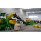 Fonctionnement automatique du recyclage des pneus en caoutchouc de la ligne de production de poudre