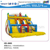 Juego Inflable Soft Series Diapositiva inflable en venta (HD-9602)