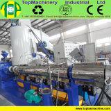Macchina di pelletizzazione della plastica LLDPE di capacità elevata per lo strato della stagnola della rafia dei sacchetti del PE pp con il costipatore