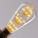 Het nieuwe Licht van Kerstmis van de Gloeilampen van Edison LED