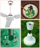"""48 """" ventilatore di soffitto solare di CC 12V con telecomando"""