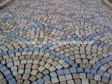Gris Natural/amarillo/rojo/Negro/Rosa/el granito o basalto/abatirse tizón o el cubo/Losa/Curbstone/ adoquines para paisaje y jardín