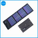 12W Dobra amorfo e Carregador Solar Flexível