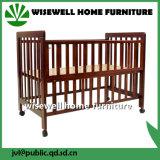 Base della culla di bambino di legno di pino
