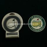 Kundenspezifische Golfball Hatclip Markierung mit Magneten für Geschäfts-Geschenk