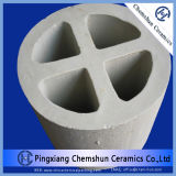 Cross di ceramica Partition Ring con Excellent Acid Resistance