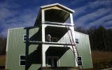 조립식 가벼운 강철 구조물 창고 구조 강철 헛간
