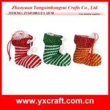 Рождественские украшения (ZY14Y26-1-2 24см) Рождество декоративной крышки багажника на заводе зерноочистки