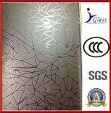 Precio barato grabado al ácido Vidrio / decorativo de cristal / vidrio del arte
