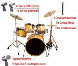Fachmann verdrahtetes Multifunktionstrommel-Mikrofon des Musikinstrument-DRM-7