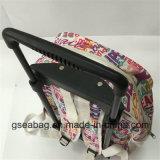 高品質の引っ張り棒のトロリーおよびバックパックのマルチ機能によって動かされるDuffelの学校の子供袋(GB#10008-1)