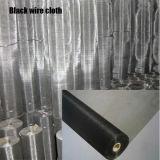 Le fil noir en tissu à armure toile pour le filtre