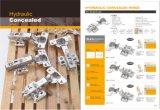 Hidráulica (BT4946) da dobradiça do pivô de ferro de estilo para armário/dobradiça de mobiliário