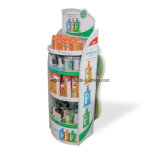 Customized Cheap Promotion Cardboard Poster Display Printing Stand