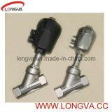 Válvula pneumática do assento do ângulo (para industrial)
