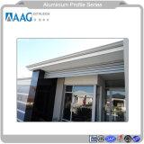 Profilo di alluminio del portello di profilo della finestra di alluminio con il rivestimento della polvere e profilo di alluminio d'anodizzazione per la decorazione delle Camere