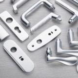 La empuñadura de puerta de aluminio