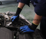 Голубая перчатка работы с покрытием нитрила Sandy (N1605)