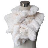 Dame Fashion Cotton Polyester Fur breide de Sjaal van de Sjaal (yky4365b-1)