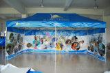 Die 3 Wand-Fahnen-Drucken mit Floding knallt oben Gazebo-/Kabinendach-Zelt-Zoll