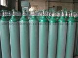 cilindros de oxigênio 6.5m3 com as válvulas cromadas Cga540 do oxigênio