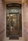 側光およびトランサムが付いている贅沢な鉄の鋼鉄単一のドア