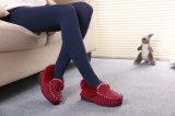 Schoenen van de Mocassin van het Huis van de Vrouwen van de manier de Toevallige in Rood